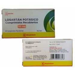 Losartán Potásico - 50 mg