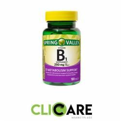 Vitamina B1 Spring Valley...
